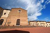 St. Agostino Church - San Gimignano Italy