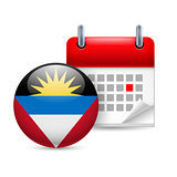 Icon of National Day in Antigua and Barbuda