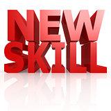 New skill word