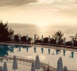 Sunrise over the sea. Turkey
