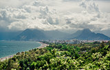 Panoramic view of Antalya city