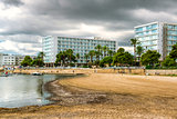 Ibiza seaside. Spain