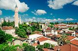 Alanya cityscape. Turkish resort