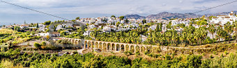 Amazing panoramic view of the Nerja