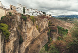Picturesque view of Ronda city.