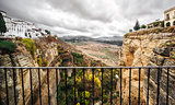 Picturesque view of Ronda city