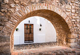 Architecture of Vejer de la Frontera. Costa de la Luz, Spain