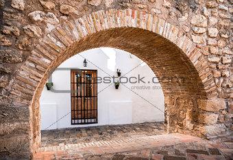 Architecture of Vejer de la Frontera. Costa de la Luz, Spain