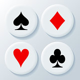 New playing card's signs