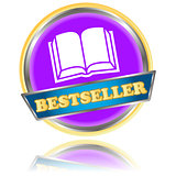 Purple bestseller icon