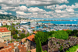Panoramic view of Le Suquet