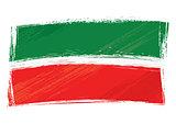 Grunge Tatarstan flag