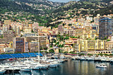 Amazing view of Monaco city