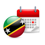 Icon of National Day in Federation of Saint Kitts and Nevis