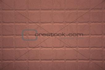 Close up shot of rough terracotta tiles