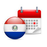 Icon of National Day in Paraguay