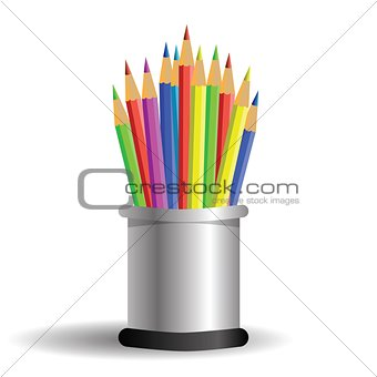 set of pencils