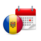 Icon of National Day in Moldova