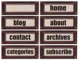 blog and websiite word set