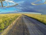 road in Pawnee Grassland
