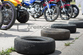 tires and motorcycles