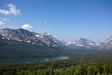 Beautiful landscape in Montana.