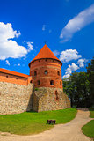 Corner tower of the Trakai Island Castle