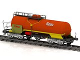 Kvass Railway wagon of the wanted colour