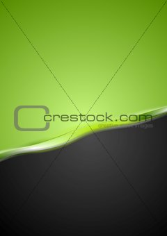 Abstract contrast wavy background