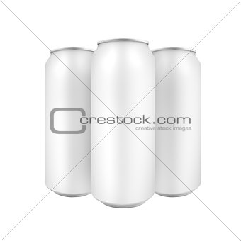 Three Beer cans