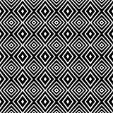 Seamless geometric texture. Diamonds pattern.