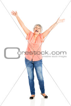 Happy lld woman