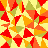 triangular retro autumn background