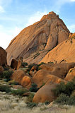 The greater Spitzkoppe in Namibia