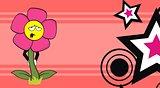 flower  cartoon background3