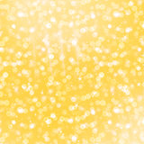 Yellow glittering background