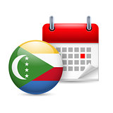Icon of National Day in Comoros
