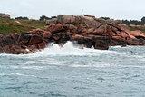 rocky Pink Granite Coast
