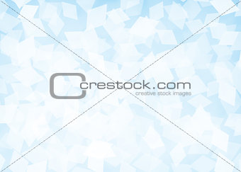 Abstract rhombus blue background