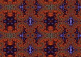 Seamless fractal pattern in a dark colors