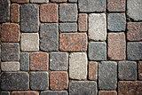 Granite paving texture