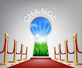 Change conceptual illustration