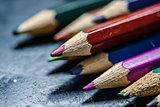 Coloring pencils.