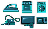 Icons of appliances