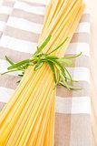 Traditional italian pasta.