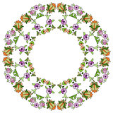 Ottoman motifs design series seventy nine
