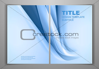 Blue Business Front and Back Flyer Template