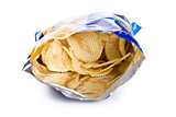 potato chips in bag