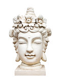 buddha face sculpture