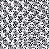 Vector monochrome seamless background from blots